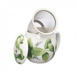 Tisaniera Flora Menta Verde